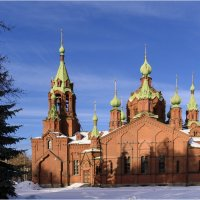 Церковь Александра Невского :: Александр Ширяев