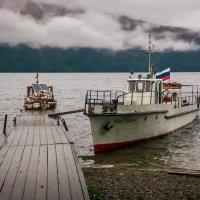 Пасмурное утро на Телецком Озере, Алтай :: Сергей Балкунов