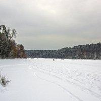 На замерзшей реке :: Сергей Фомичев