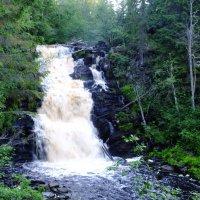 Карелия. Водопад Юканкоски ( Белые мосты ) :: Андрей Кротов