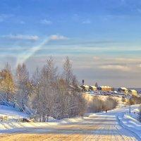 Мороз и солнце. :: Виктор Заморков