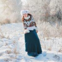 Морозное утро! :: Inna Sherstobitova