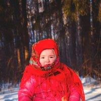 Русский платочек :: Каролина Савельева