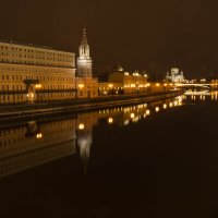 Ночная Москва :: Роман Репин