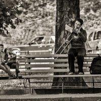 Одинокий тромбон :: john dow