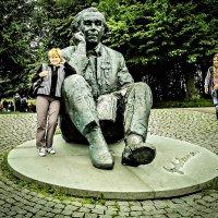 Памятник композитору Густаву Эрнесаксу. :: Nonna