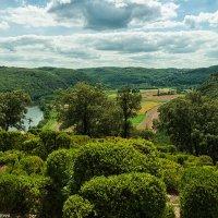 Висячие сады Маркессак. Вид на долину реки Дордонь. :: Надежда Лаптева