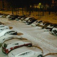 вид из окна во двор... :: Алексей Бортновский
