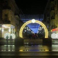 Праздничный город в Сочельник :: татьяна