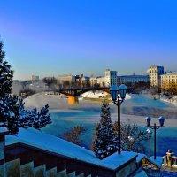 Рождественский город-1 :: Vladimir Semenchukov