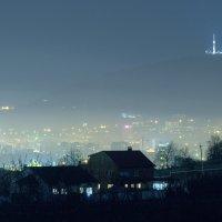 Машук в ночном тумане :: Ник Карелин