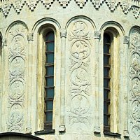 Барабан купола Дмитриевского собора :: Сергей Владимирович Егоров