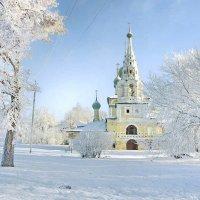 Морозное утро Рождества... :: Игорь Суханов