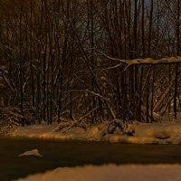 Зимний Иж ночью :: Олег Резенов