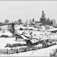 Поморское село Нёнокса. :: Марина Никулина