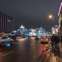 Новогодняя Москва. :: Владимир Безбородов