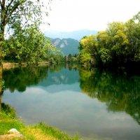 Река Адда. Италия :: NataliD24