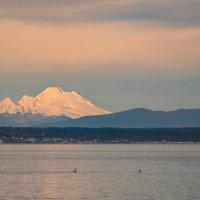 Гора на закате :: Alena Nuke