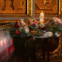 Рождественское убранство храма :: Мария Корнилова