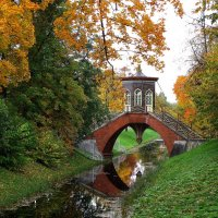 Крестовый мост, г.Пушкин :: GalLinna Ерошенко