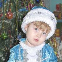 Я ещё не снегурочка, я только учусь ... :: юрий Амосов