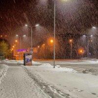 снег идет.. :: юрий иванов