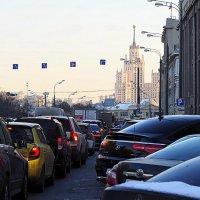 ритмы города-автомобили :: Олег Лукьянов