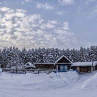 winter landscape in the countryside :: Dmitry Ozersky