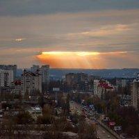 Взгляд с 21 этажа...., Воронеж - город в котором живу... :: Михаил Болдырев