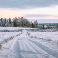 Зимний вечер... :: Александр Никитинский