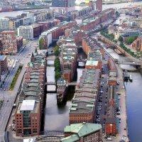 Район портовых складов Шпайхерштадт в Гамбурге :: Денис Кораблёв