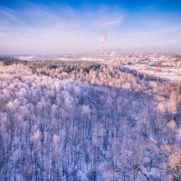 Город зимы :: Сергей Дубинин