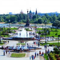 Солнечная панорама города Ярославля :: Дмитрий