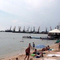 На пляже :: Svetlana Lyaxovich