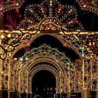 Новогодние огни Москвы :: Наталья Верхотурова