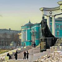 Москва. Памятник Александру II . :: В и т а л и й .... Л а б з о'в