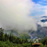 Восходящий туман :: Сергей Чиняев