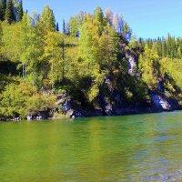 Осень на реке :: Сергей Чиняев