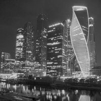 Сити в Ч/Б. :: Alexey YakovLev