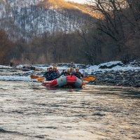 Рафтинг по реке Белой :: anatoly