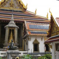 Бангкок. Храм Изумрудного Будды. :: Лариса (Phinikia) Двойникова