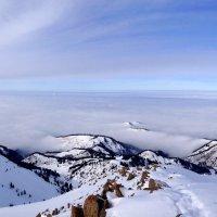 Горы и облака. :: Anna Gornostayeva