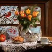 А за окном январь... :: Валентина Колова