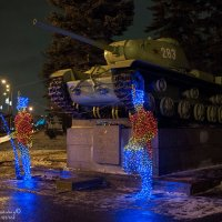 КВ-85 в Автово :: Владимир Питерский