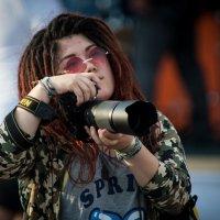 Crazy female photographer :: Сергей Смоляков
