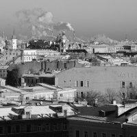 Мороз и солнце, и питерские крыши :: Виктор | Индеец Острие Бревна