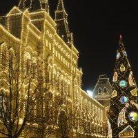 столица встречает Новый год :: Сергей Косьмин