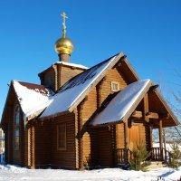Храм Богоявления в Мытищах :: анна нестерова