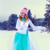 Фея на коньках танцует:-) :: Вячеслав Ложкин