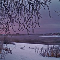 сиреневое небо :: Валерия Воронова